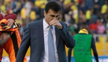 Ecuador: Técnico fue despedido de la selección